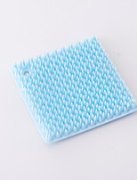 cheap -High Quality 1pc Rubber Cleaning Brush & Cloth,10*10*1
