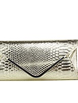cheap -Women's Bags PU Clutch Pattern / Print for Casual Formal Winter All Seasons Gold Black Silver