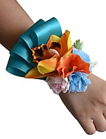 "cheap -Wedding Flowers Wrist Corsages Wedding Grosgrain 3.94""(Approx.10cm)"