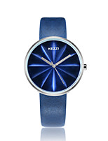 cheap -KEZZI Women's Quartz Wrist Watch Fashion Watch Japanese Casual Watch PU Band Casual Cool Black White Blue Red Green