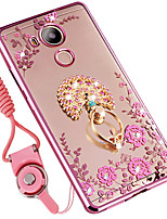 cheap -Case For Huawei Mate 8 Shockproof Rhinestone with Stand Back Cover Animal Soft Silicone for Huawei Mate 8