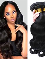 cheap -Brazilian Hair Body Wave Human Hair Weaves 3pcs 0.3