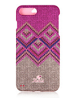 abordables -Funda Para Apple iPhone 8 iPhone 7 Diseños Funda de Cuerpo Entero Diseño Geométrico Dura ordenador personal para iPhone 8 Plus iPhone 8