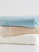 abordables -Style frais Serviette de bain, Couleur Pleine Qualité supérieure 100% Coton 100% percale de coton Serviette