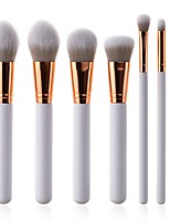 cheap -7 pcs Makeup Brush Set Synthetic Hair Soft Beech Wood Adult