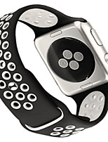cheap -Watch Band for Apple Watch Series 3 / 2 / 1 Apple Modern Buckle Silicone Wrist Strap