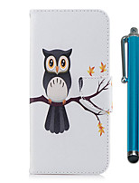 cheap -Case For Samsung Galaxy S9 S9 Plus Card Holder Wallet with Stand Flip Magnetic Full Body Cases Owl Hard PU Leather TPU for S9 Plus S9 S8