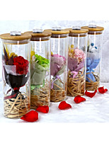 cheap -Wedding Birthday Party Favors & Gifts - Gifts Ornaments Satin Bowknot Dried Flower Flower & Bud Floral Theme Holiday Romance Fantacy