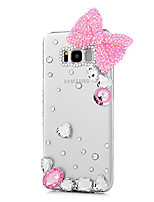 cheap -Case For Samsung Galaxy S8 Plus S8 Rhinestone Back Cover Butterfly Hard PC for S8 Plus S8 S7 edge S7
