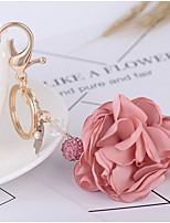 cheap -Romance Birthday Wedding Keychain Favors Fabrics Keychain Favors - 1