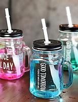 cheap -Organic Glass Mason Jar Training Office / Career Drinkware 2