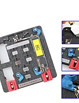 cheap -9-in-1 circuit board pcb holder jig fixture work station for iphone 8 7 6sp 5s logic board a8 a9 a10 chip repair tool