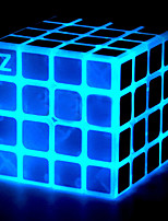 cheap -Rubik's Cube z-cube Luminous Glow Cube Stone Cube 4*4*4 Smooth Speed Cube Magic Cube Puzzle Cube Office Desk Toys Stress and Anxiety