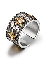 cheap -Men's Band Rings Cuff Ring , Casual Cool Stainless Circle Jewelry Daily Formal