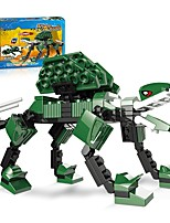 cheap -Building Blocks Toy Toys Dinosaur Animals All Adults' 107 Pieces