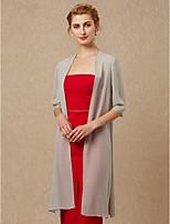 cheap -Half Sleeves Chiffon Wedding Party / Evening Women's Wrap Coats / Jackets
