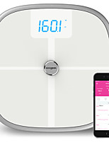 cheap -koogeek fda approved smart health scale bluetooth wi-fi sync measures muscle bone mass bmi bmr and visceral fat weight body fat water 16