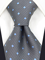cheap -Men's Vintage Work Casual Silk Necktie - Polka Dot