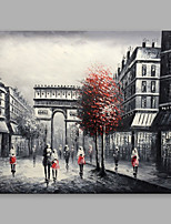 cheap -Hand-Painted Landscape Horizontal, Modern Oil Painting Home Decoration One Panel