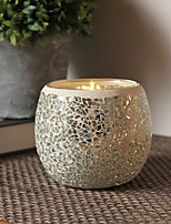 cheap -European Style Simple Style Glass Candle Holders 1pc, Candle/Candle Holder