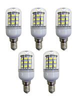 cheap -5pcs 3.5W 280 lm E12/E14 LED Corn Lights 60 leds SMD 2835 LED Light White AC 110-120V