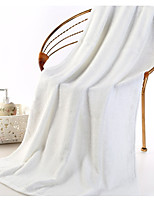 abordables -Style frais Serviette, Couleur Pleine Qualité supérieure Polyester/Coton 100% coton Serviette