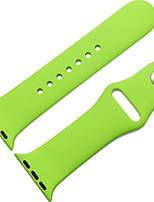 abordables -Bracelet de Montre  pour Apple Watch Series 3 / 2 / 1 Apple Bracelet Sport Silikon Sangle de Poignet