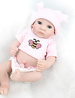 cheap -NPK DOLL Reborn Doll Baby 28cm Vinyl lifelike Cute Child Safe Parent-Child Interaction Simulation Lovely Non Toxic Children's Adults'