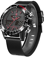 cheap -Alarm Clocks Multifunction Watch Sport Watch Time Display Multi-function Universal Generic Casual Watch Alarm Clock Calendar Dual Time
