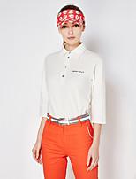 economico -Per donna Golf Pantalone/Sovrapantaloni Asciugatura rapida Antivento Indossabile Traspirabilità Golf Attività all'aperto