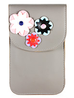 abordables -Funda Para Apple iPhone X iPhone 8 Soporte de Coche Cartera Bolsa Flor Suave Cuero de PU para iPhone X iPhone 8 Plus iPhone 8 iPhone 7