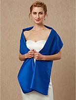 cheap -Sleeveless Taffeta Wedding Party / Evening Women's Wrap Shawls