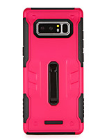 cheap -Case For Samsung Galaxy Note 8 with Stand Back Cover Armor Hard PC for Note 8