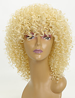 cheap -Synthetic Hair Wigs Kinky Curly African American Wig Party Wig Natural Wigs 8-11inch Blonde