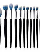 cheap -10-Pack Lip Brush Eyelash Brush Powder Brush Permanent Makeup Kit Supplies Synthetic Hair Eco-friendly Soft Full Coverage Synthetic Beech