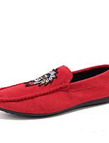 preiswerte -Herrn Schuhe Künstliche Mikrofaser Polyurethan Frühling Sommer Tauchschuhe Komfort Loafers & Slip-Ons Seiten-drapiert für Normal Draussen