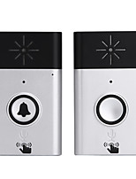 cheap -Ding dong Music One to One Doorbell Sound adjustable Intercom Wireless Doorbell 200 Surface Mounted