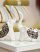 cheap -2pcs Ceramic Metal Simple Style Modern/ContemporaryforHome Decoration, Collectibles