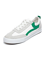 cheap -Men's Shoes Fabric Spring Fall Light Soles Sneakers for Casual Black Pink/White Black/White White/Green