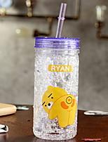 cheap -Plastics Mason Jar Party / Evening Casual/Daily Drinkware 2