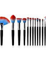 Недорогие -10 в комплекте Постоянные принадлежности для макияжа Синтетические волосы Закрытая чашечка Бук Взрослый Подростки