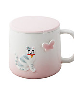 cheap -Porcelain Modern/Contemporary Cup & Saucer Tea Party Drinkware 2