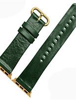 abordables -Bracelet de Montre  pour Apple Watch Series 3 / 2 / 1 Apple Boucle Moderne Cuir Sangle de Poignet