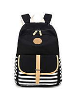 cheap -Women's Bags Canvas Backpack Zipper for Casual Outdoor All Seasons Green Black Red Blushing Pink Purple