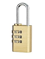cheap -110213 Padlock Metalic for Luggage