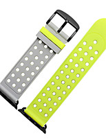 cheap -Watch Band for Apple Watch Series 3 / 2 / 1 Apple Sport Band Modern Buckle Silicone Wrist Strap