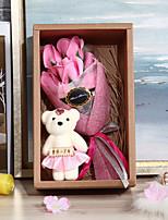 Недорогие -Свадьба День рождения Партия выступает и Подарки - Подарки Медведь Атласный бант Гербарий Романтика