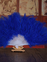cheap -pretty floral waved hand fan wedding favors classic them
