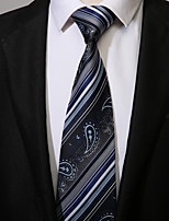 cheap -Men's Work Casual Necktie - Striped