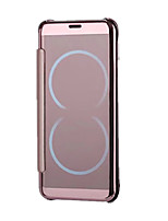 abordables -Funda Para Samsung Galaxy S8 Plus S8 Flip Funda de Cuerpo Entero Color sólido Dura ordenador personal para S8 Plus S8 S7 edge S7